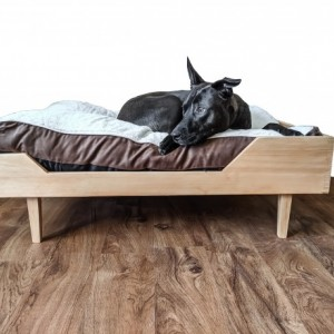 Wooden Dog Bed- The Willow