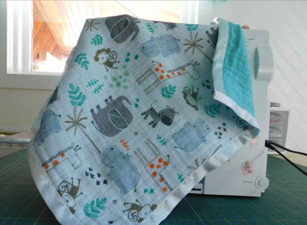 "Baby gift...baby blanket-toddler blanket- tag along blanket-18""×18"""