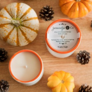 Pumpkin Souffle Scented Candle, Soy Wax Candle, Coworker Gift, Home Decor, Gift for Her, Gift for Wife, Mother's Day Gifts, Valentine Gifts
