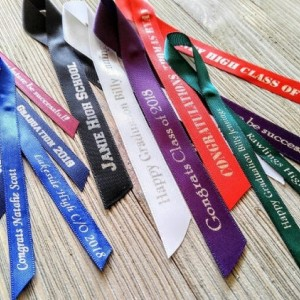 5/8 inches wide Personalized Ribbons for any event (unassembled)
