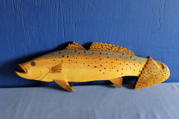 Spotted Sea Trout Wall Plaque
