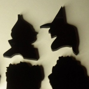 oz charms,halloween,dorothy,witches,wizard,laser cut