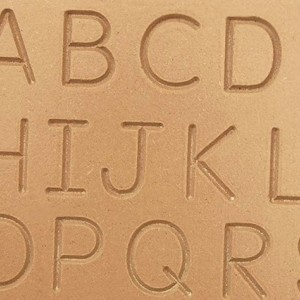 Montessori Alphabet Wooden Tracing Board - Uppercase Letters TB_UPR101