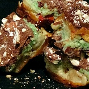 Chocolate Mint Toffee (1lb)