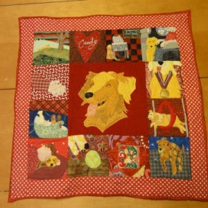 Beloved Buddy Memory Quilt (LARGE)