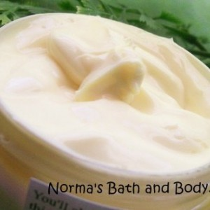 lemongrass shea butter body cream