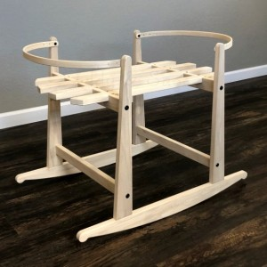 Natural Rocking Stand for Ghanaian Moses Baskets