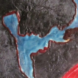 How Can I Tell You - Portrait Encaustic Wax Art