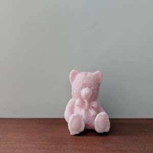 Teddy Bear Decorative Soap  - set of 8 - Pink