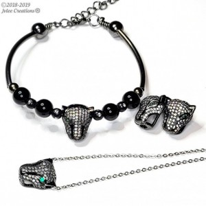 Women's Panther Jewelry Sets