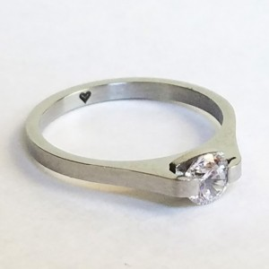Women's Titanium Steel Ring