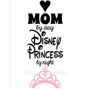 Mom by Day Disney Princess by Night Shirt - Disney Mom Shirt - You Pick Disney Shirt - Princess or Teacher Nurse Doctor Lawyer Photographer