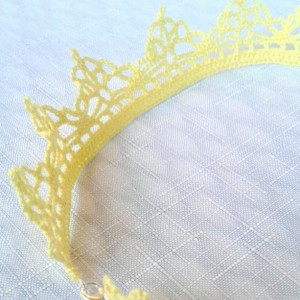 "NeckLACE in Lemon Chiffon (17"")"