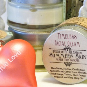Facial Cream, Summer's Skin Timeless, All Natural, Handcrafted