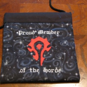 Snap Shopping Purse for the Horde World of Warcraft Fan
