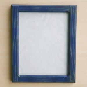 Forever 8  X 10 Distressed Blue picture frame