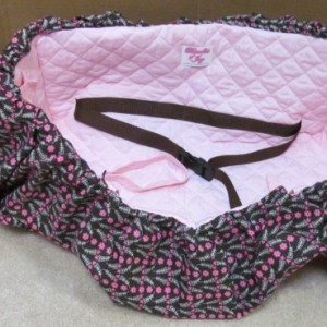 Handmade Shopping Cart Cover, keeps baby away from germs, even fits Target Carts! for Girls