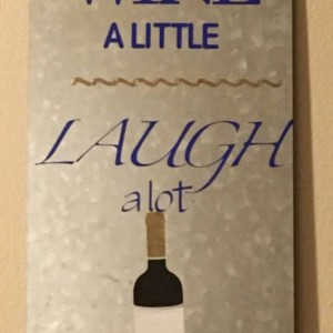 Wine Wall Sign