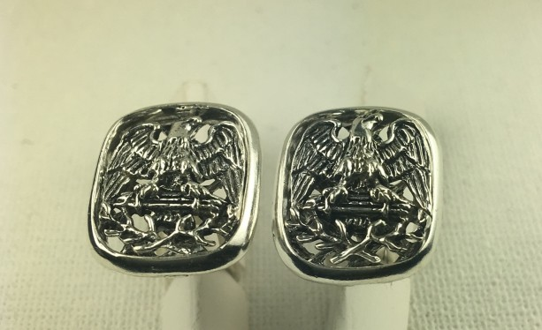 American Eagle sterling silver cufflinks