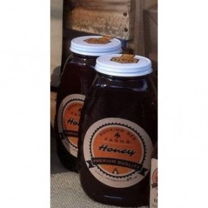 Two Pounds (32oz) Delicious Fresh Honey in Glass Jar with Metal Lid
