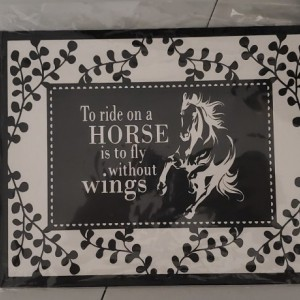 To Ride A Horse 8x10