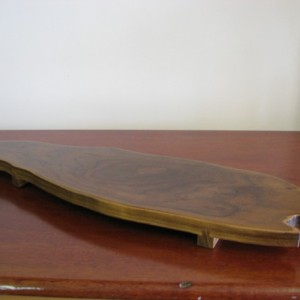 SOLD - Large wood Sushi Serving Table / Tray - ideal also for your other fav hors d'oeuvres