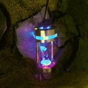 PD-6 Series Orbit Lightsaber Crystal Chamber equipped with any color LED