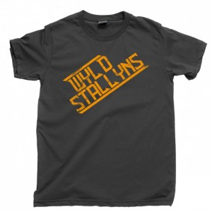 Bill And Ted Men's T Shirt, Wyld Stallyns Bill & Ted's Excellent Adventure Movie Unisex Cotton Tee Shirt