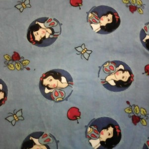 Baby Blanket Snow White Double Sided Flannel