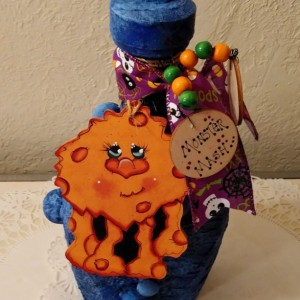 Upcycled Halloween Props,  Monster Decor,