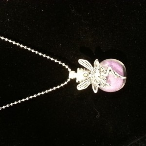 Fairy Dust Necklace Tinker Bell Pixie