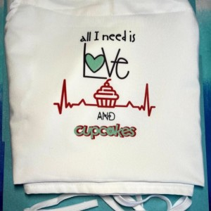 Love and Cupcakes Apron