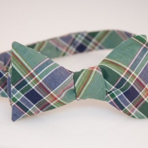 Bow Tie - Green/Red/Purple Plaid