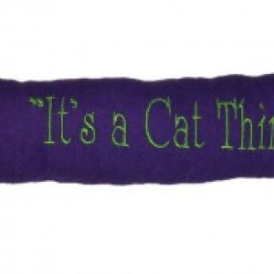"""KittyKicker """"Its A Cat Thing"""" 11 inches Long 100% Organic USA Catnip Cat Toy"""
