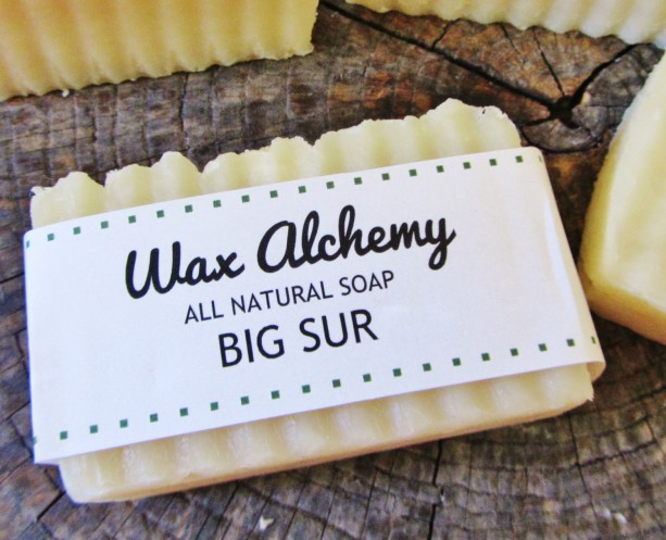 Big Sur All Natural Soap / Two 5 oz Bars