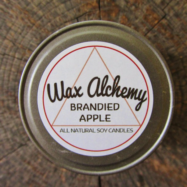 Brandied Apple 8 oz Soy Candle