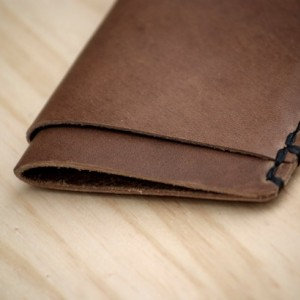 Leather Card Wallet, Minimalistic Leather Wallet, Leather Card Holder, Chromexcel Wallet, Horween Leather Slim Wallet, Natural Chromexcel