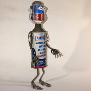All American Assemblage Robot by Jeffery Weatherford