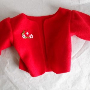 Fleece Jacket for American Girl or similar dolls