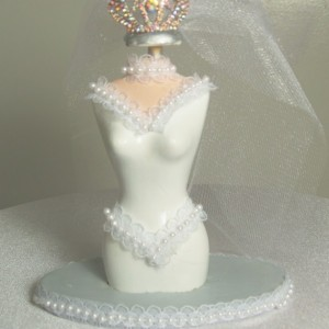 The Bride To Be (mini dress form)
