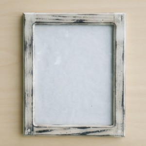 Forever 8 x 10   Distressed White picture frame