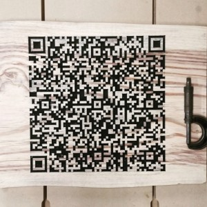 Personalized QR Code Business Card