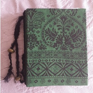 Handmade Shabby Chic Junk Journal with Handmade Parchment Paper