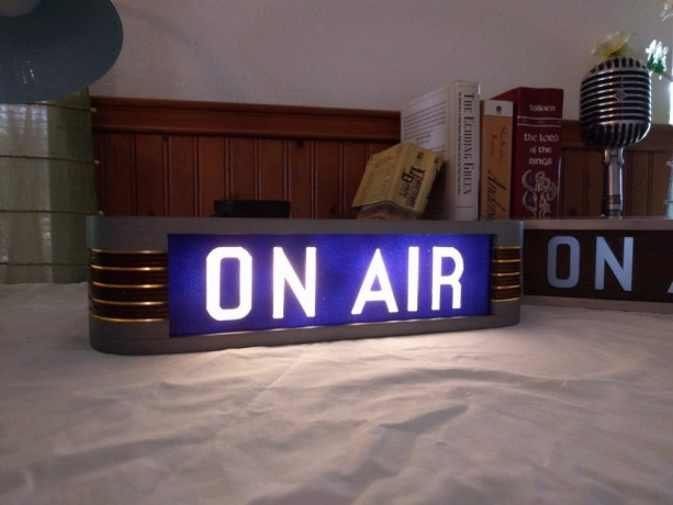On Air Studio Warning Sign Aftcra