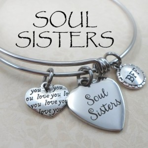 Soul Sister Stainless Steel Bangle