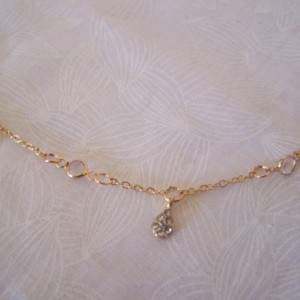 Choker Crystal Drop and Channel Design