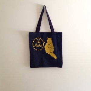 Gold Cat canvas tote bag, black canvas tote, reusable bag, funny cat bag, crazy cat lady, gift for cat lover, halloween, trick or treating