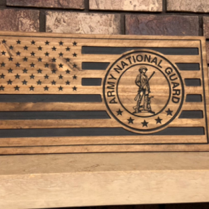 National Guard Gift National Guard Decor National Guard Man Cave Decor Military Gift Gifts Him Gifts for Her