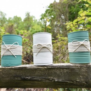Tin Can with a Rustic Twist