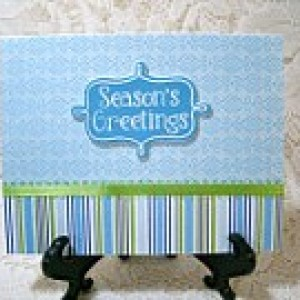 """1/2 PRICE CARD SALE!! Hand made set of 12 """"Seasons Greeting"""" Cards #6254"""